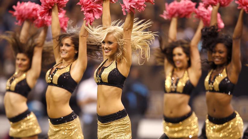 NFL Cheerleader: Hoch die Hände am Wochenende: Die Saintsations aus New Orleans in Aktion.