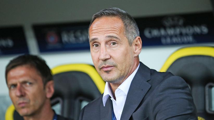 Bundesliga: Adi Hütter wird neuer Trainer in Frankfurt