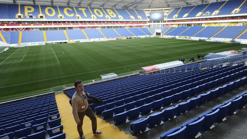 WM: Die Rostov Arena ist einer der Austragungsorte der Fussball WM in Russland.