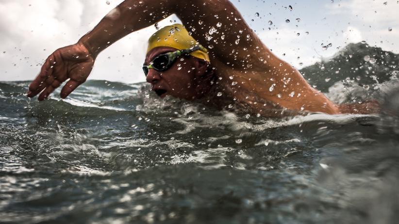 Extremschwimmen: André Wiersig unterwegs im Meer