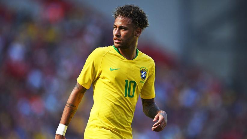 Brasilien: Mit Models auf Jachten tanzen kann er schon wieder: Neymar