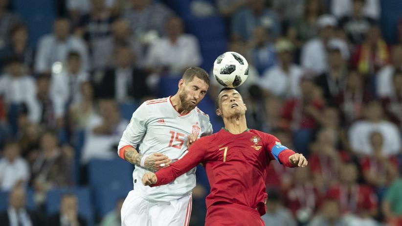 Portugal – Spanien: Pass, Pass, Pass, Pass, Ronaldo, Pass, Pass