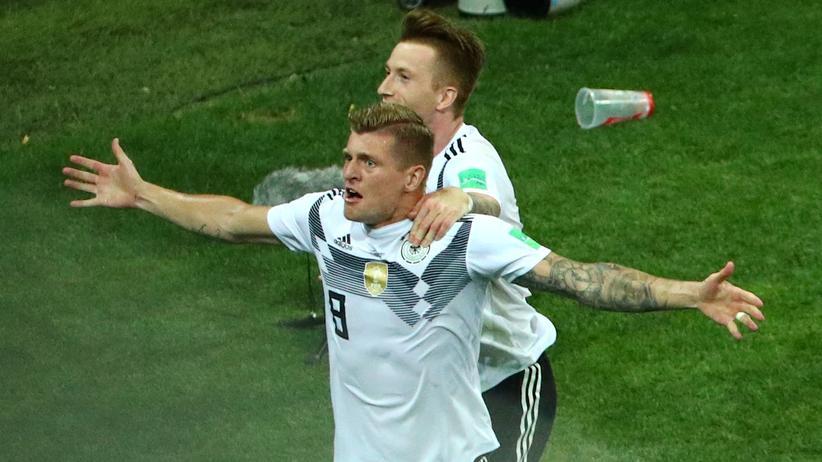 Fußball-WM: Deutschland gewinnt 2:1 gegen Schweden