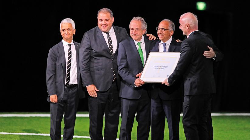 WM-Vergabe 2026: Fifa-Mitglieder wählen USA, Mexiko und Kanada