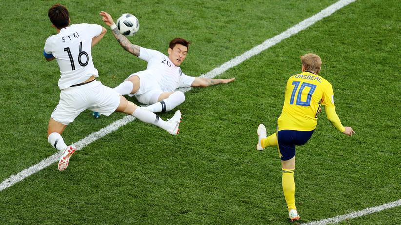 Fußball-WM: Schweden schlägt Südkorea