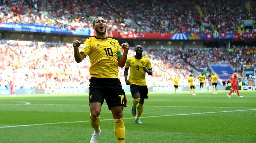 Fußball-WM: Belgien feiert Torfestival gegen Tunesien