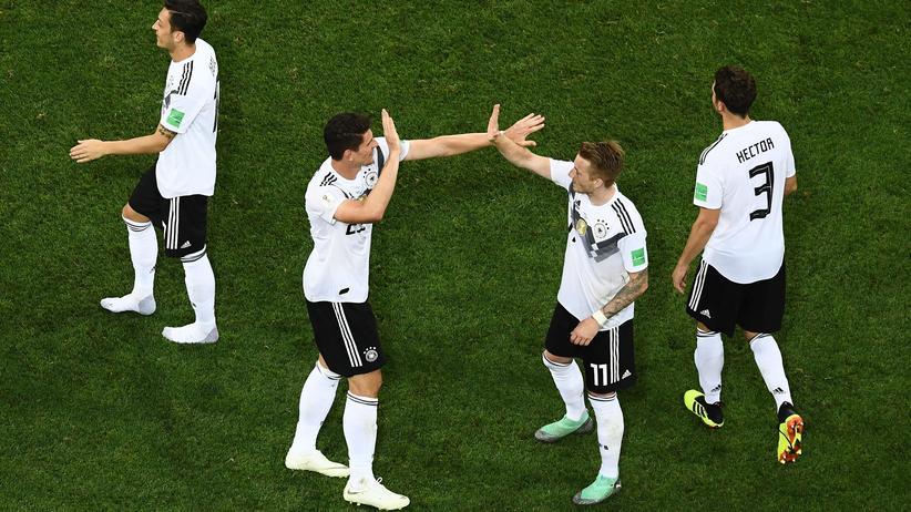 Fußball-WM: So zieht Deutschland ins Achtelfinale ein