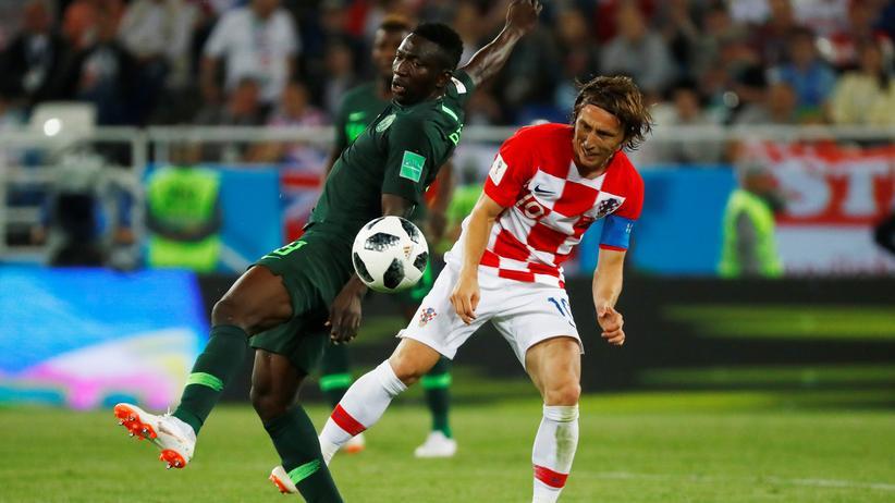 Fußball-WM: Kroatien gewinnt gegen Nigeria