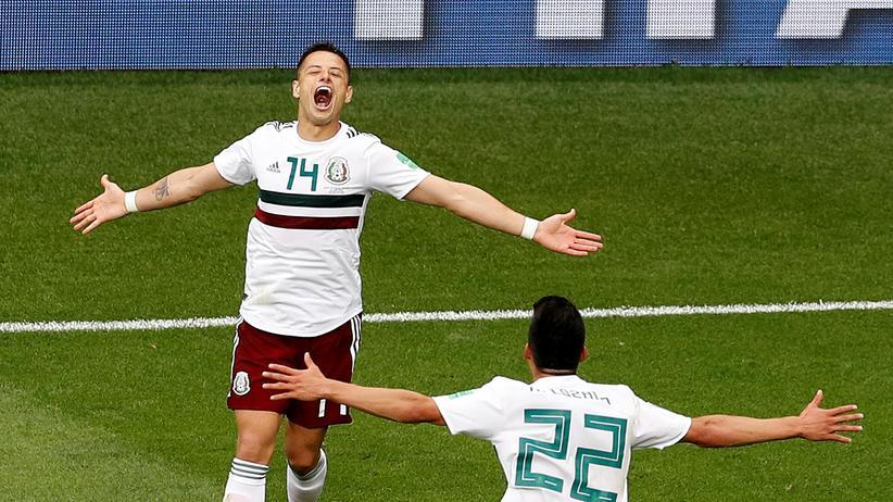 Fußball-WM: Mexiko gewinnt auch gegen Südkorea