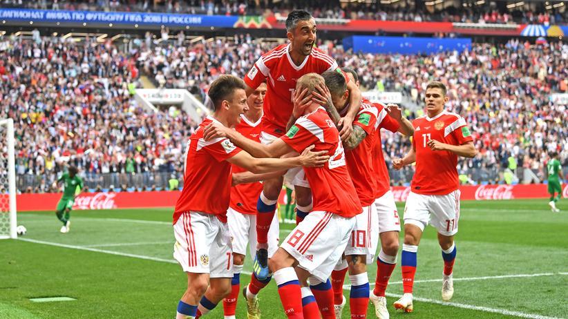 Fussball WM Russland