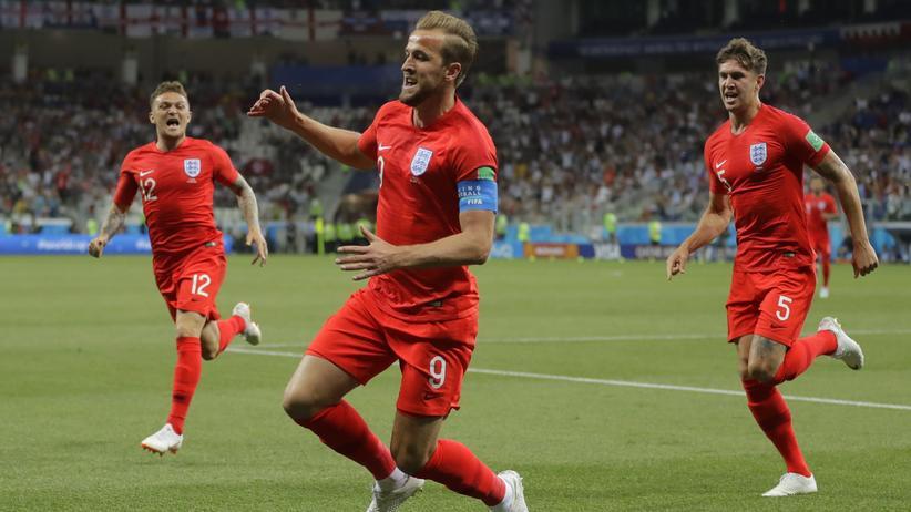 Fußball-Weltmeisterschaft: England gewinnt gegen Tunesien