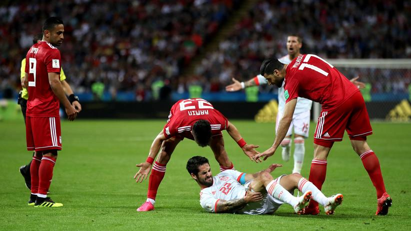 Iran – Spanien: Für schönen Fußball gibt es andere