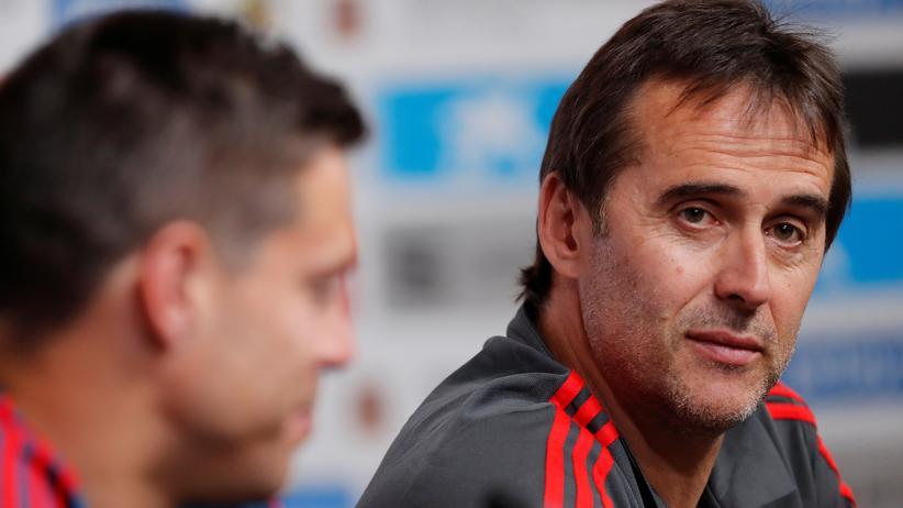 Julen Lopetegui: Spanien entlässt Nationaltrainer