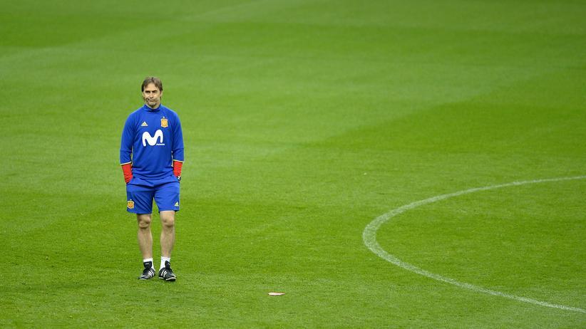 War bis einen Tag vor der WM Spaniens Nationaltrainer: Julen Lopetegui.