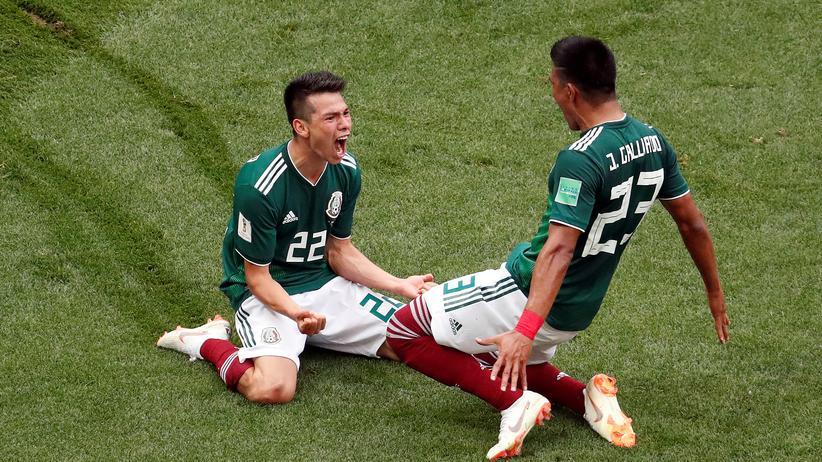 Fußball-WM: Deutschland verliert gegen Mexiko