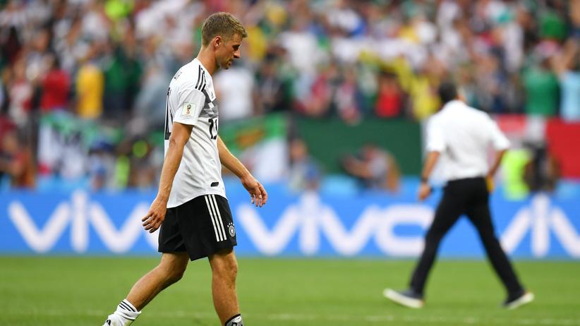 Deutschland – Mexiko: Noch drei Wochen Weltmeister