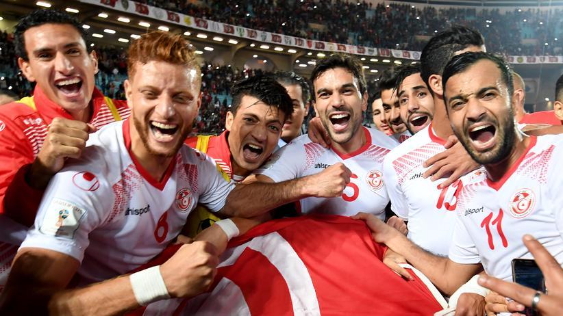 Tunesien: Im November freute sich Tunesien über die WM-Qualifikation, mal sehen, wie lange noch.
