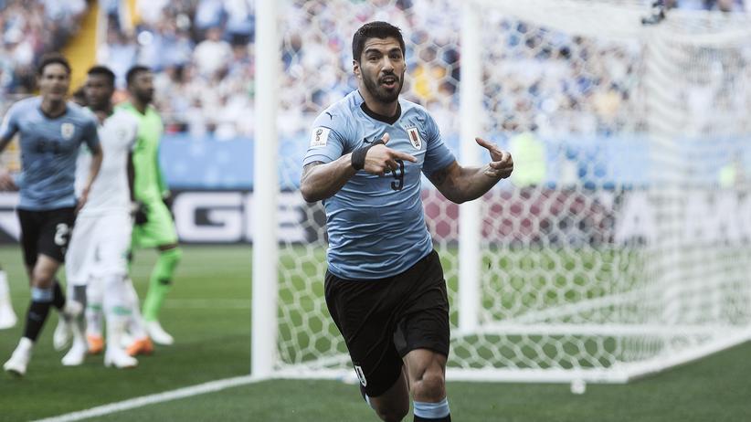 Fußball-WM: Uruguay und Russland im Achtelfinale