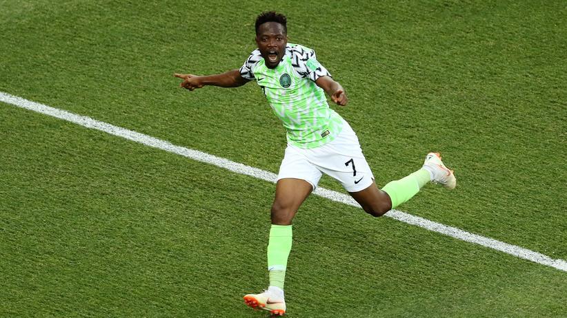 Fußball-WM: Nigeria gewinnt gegen Island