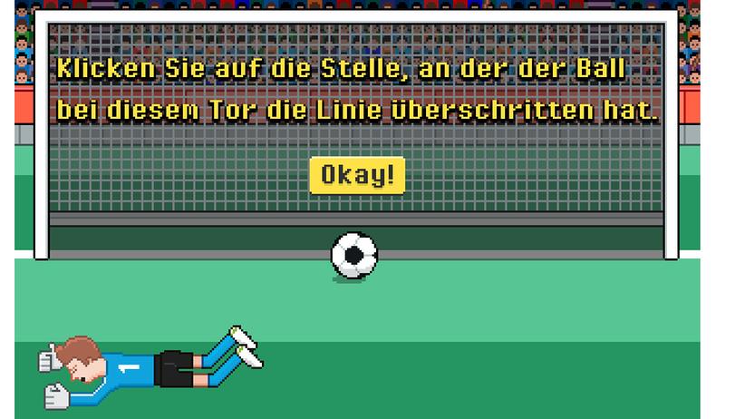 Fußball-WM: Wo ging er rein?