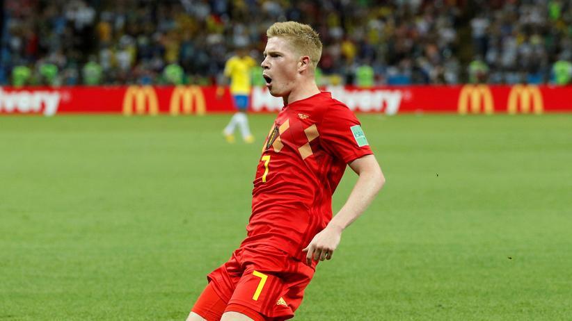 Brasilien – Belgien: Belgien wirft den Rekordweltmeister aus dem Turnier
