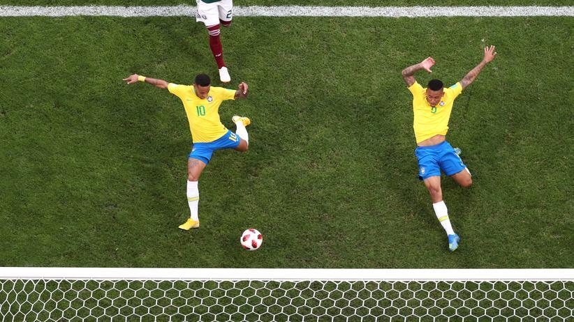 Fußball-WM: Neymar und Firmino schießen Brasilien ins Viertelfinale
