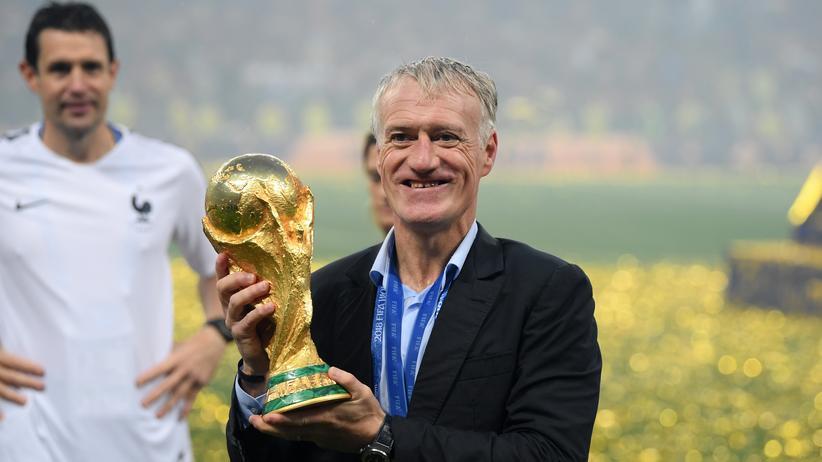 Weltmeister: Der mutige Didier Deschamps