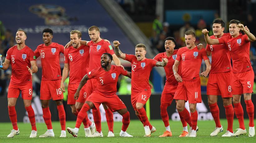 Fußball-WMSie können es doch: Die Engländer beim Elferschießen