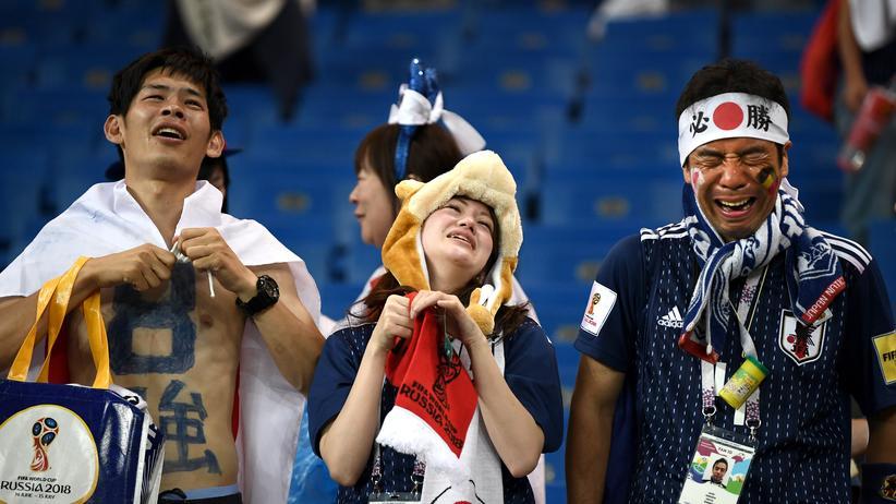 Belgien – Japan: Von Japan bleibt etwas
