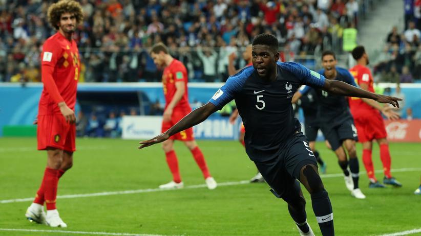 Fußball-WM: Frankreich zieht ins Finale ein