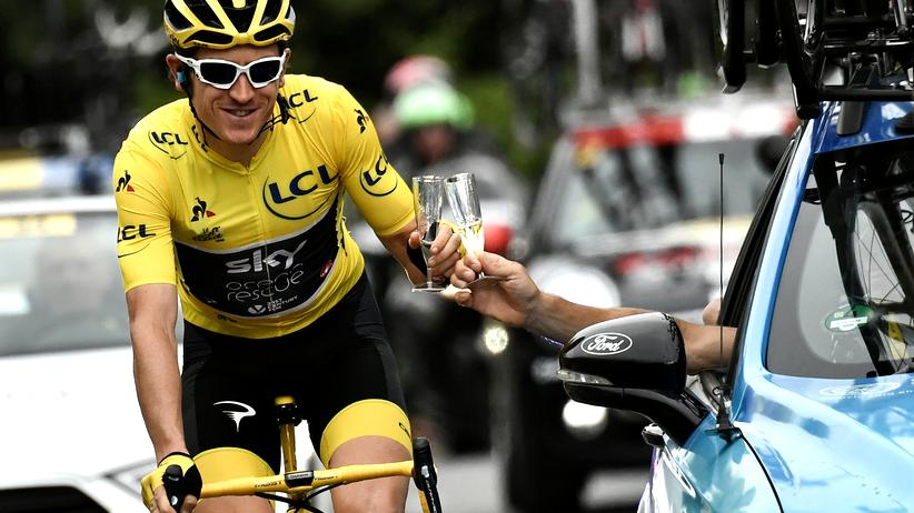 Radsport: Geraint Thomas gewinnt Tour de France