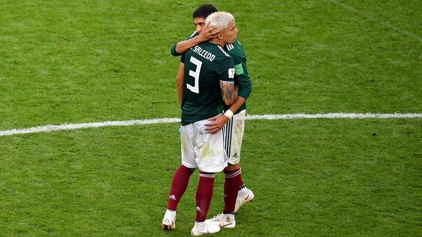 Brasilien – Mexiko: 25 Minuten Mexiko