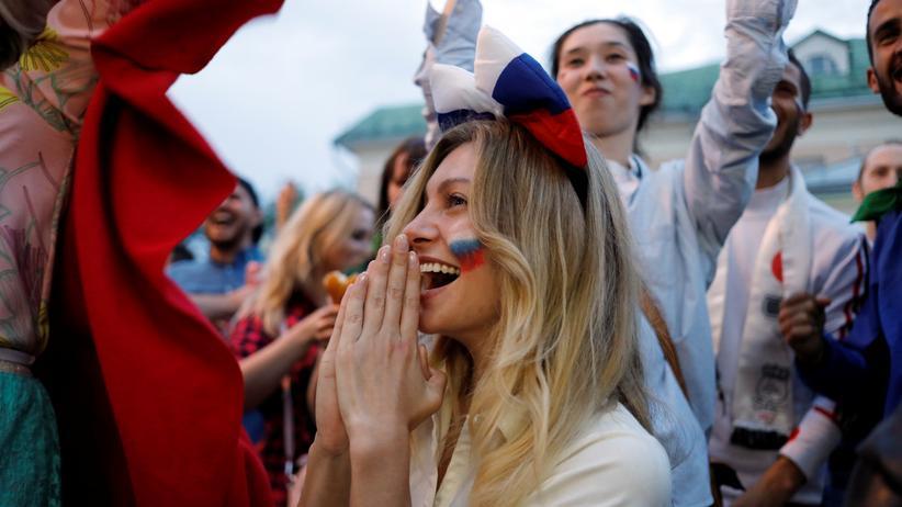 """Fußball-WM: """"Die Frauen haben einfach nur Spaß"""""""