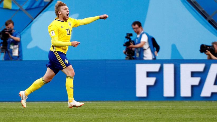 Fußball-WM: Schweden besiegt die Schweiz