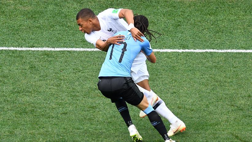 Viertelfinale Uruguay – Frankreich: Ohne den Matador ging gar nichts