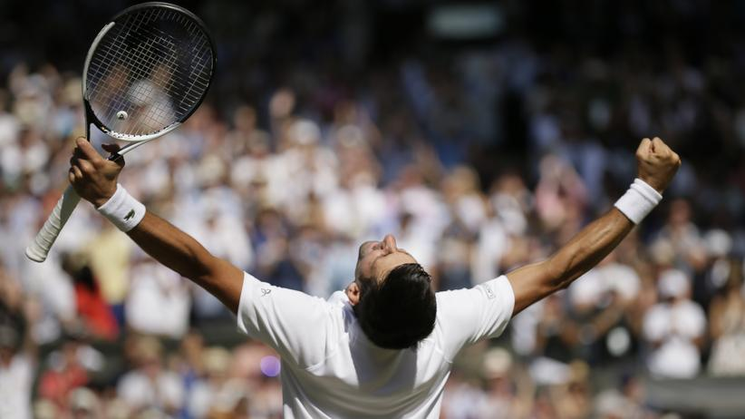 Tennis: Novak Đoković nach seinem Sieg in Wimbledon