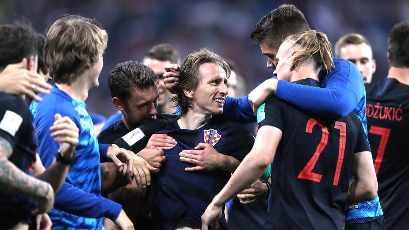 Fußball-WM: Kroatien nach Elfmeterschießen im Viertelfinale