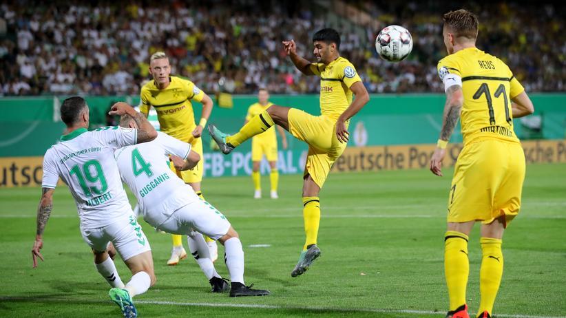 DFB-Pokal-Liveticker: Live: Dortmund und Fürth kämpfen ums Weiterkommen