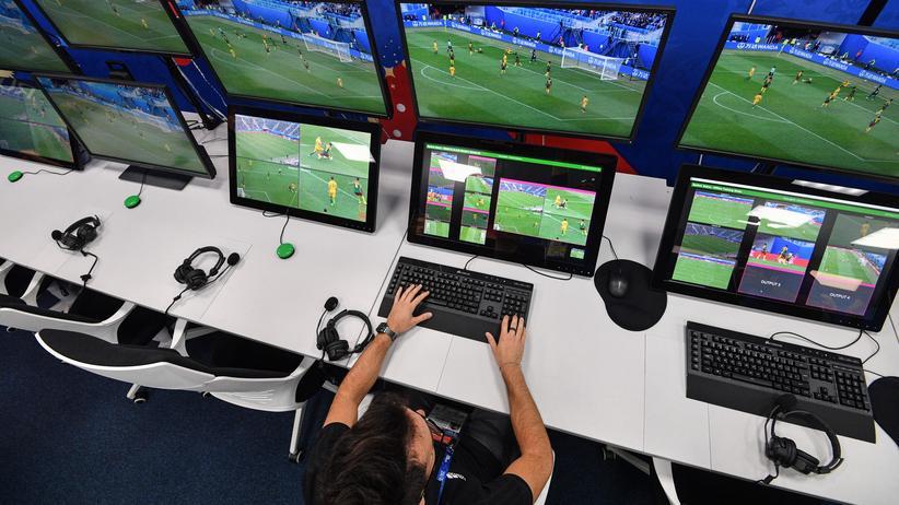 Hawk-Eye: Kam schon bei der Fußball-WM in Russland zum Einsatz: das Hawk-Eye-System.