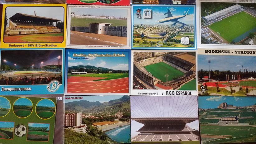 Fußballfans: Die Stadionansichtskartensammlervereinigung