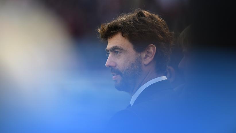 Fußball: Andrea Agnelli, Präsident von Juventus Turin und Verkünder der Uefa-Pläne für einen neuen europäischen Wettbewerb