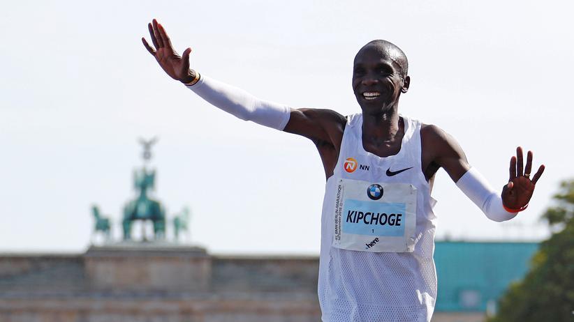 Berlin-Marathon: Eliud Kipchoge läuft Weltrekord