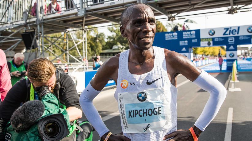 """Eliud Kipchoge: """"Rekorde sind dazu da, gebrochen zu werden"""""""