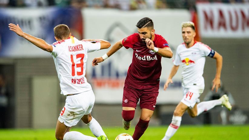 Europa League: RB Leipzig unterliegt RB Salzburg