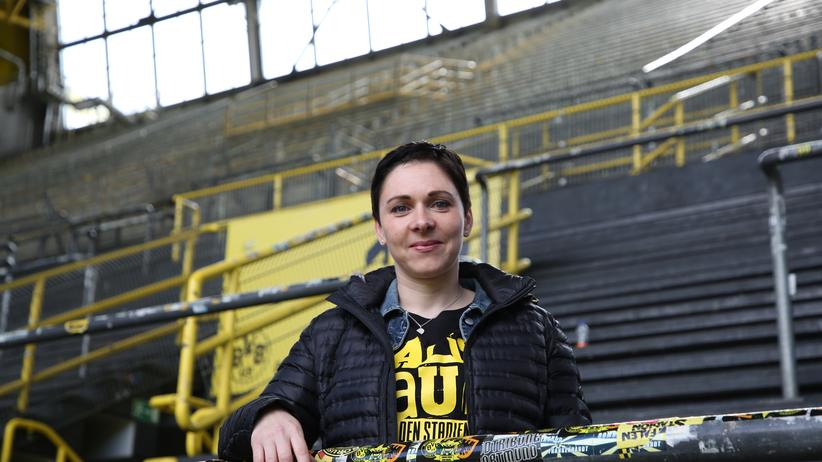 Fan.Tastic Females: Ramona, eine der Porträtierten, ist BVB-Fan.