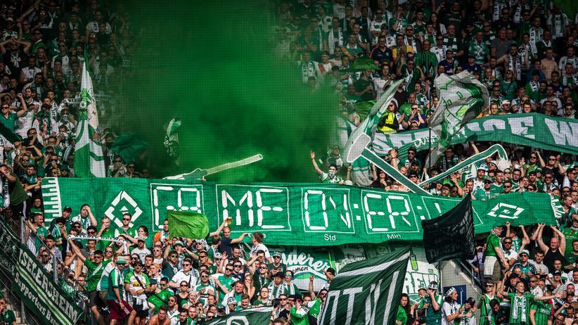 Hubertus Hess-Grunewald : Werder Bremen Fans (Archivbild)