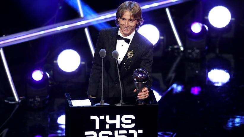 Fifa-Gala: Luka Modrić ist Weltfußballer 2018