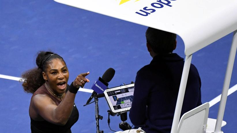 Tennis: Serena Williams: emotional oder hysterisch?