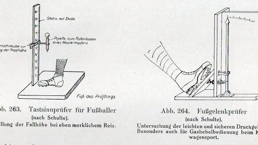 Fußball in der Weimarer Republik: In der Weimarer Republik entstand in Deutschland eine Fußballwissenschaft. Was sie forderte, klang kurios, doch war sie ein Vorläufer der modernen Labore.