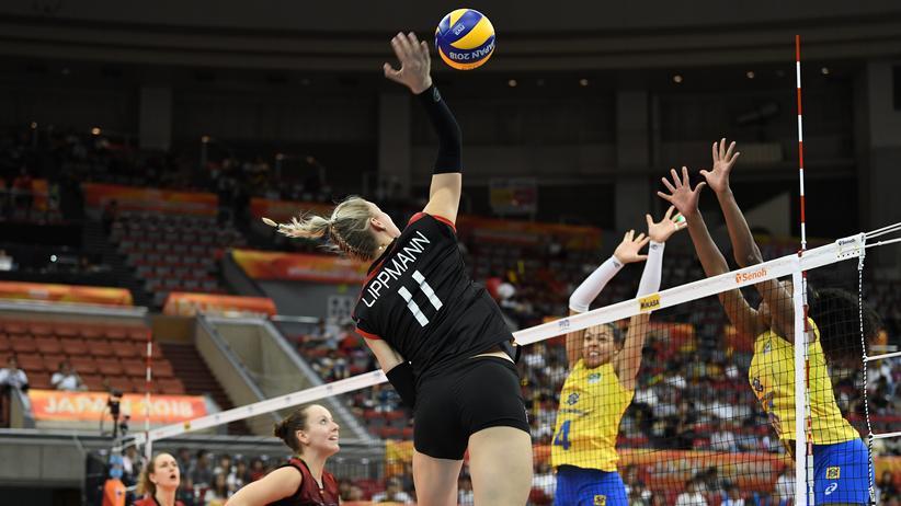 Volleyball-WM: Deutsche Volleyballerinnen gewinnen gegen Brasilien